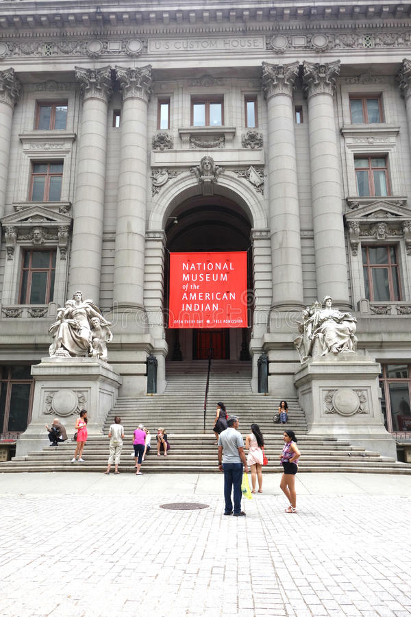 Nationalmuseum des Indianers stockfotografie