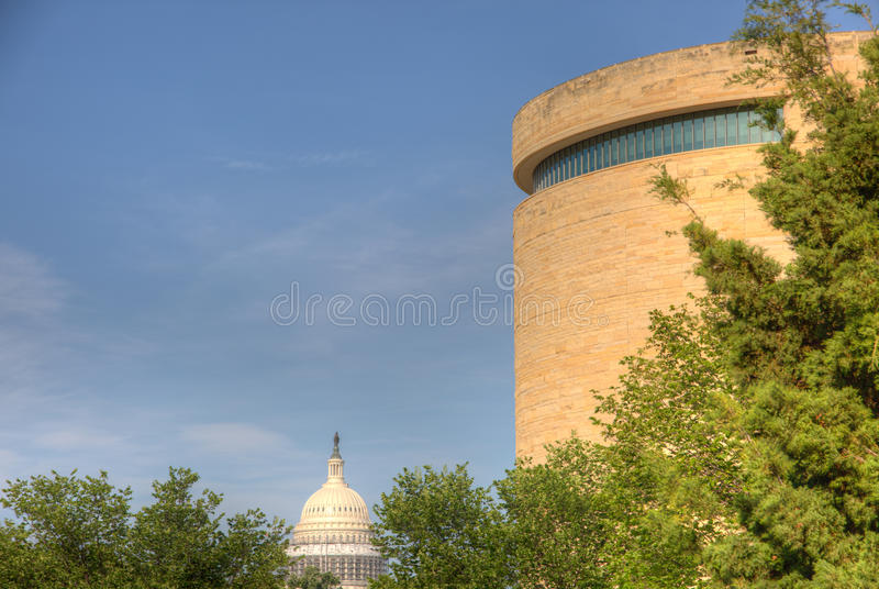 Nationalmuseum des Indianers lizenzfreies stockbild