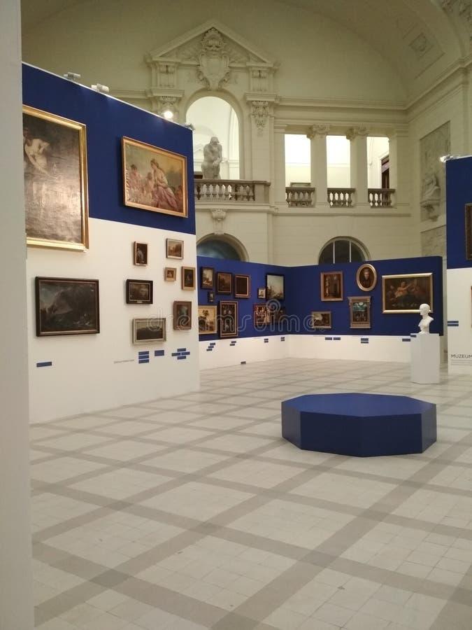 Nationalmuseum in Posen stockbild