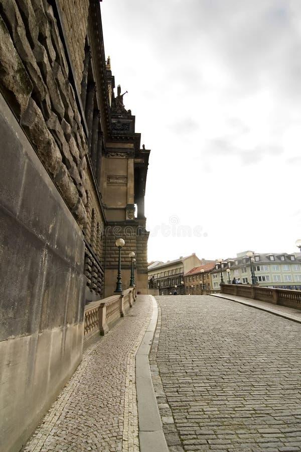 Nationalmuseum, Prag stockbilder