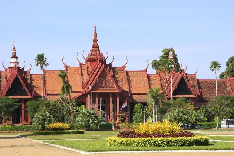 Nationalmuseum von Kambodscha, Phnom Penh stockfotos
