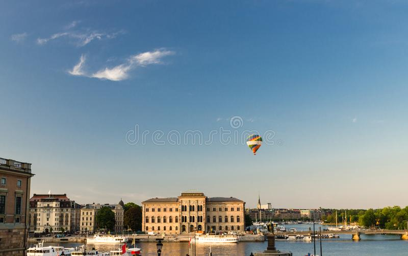 Nationalmuseum von schönen Künsten nahe See Malaren, Stockholm, Schwede stockbild