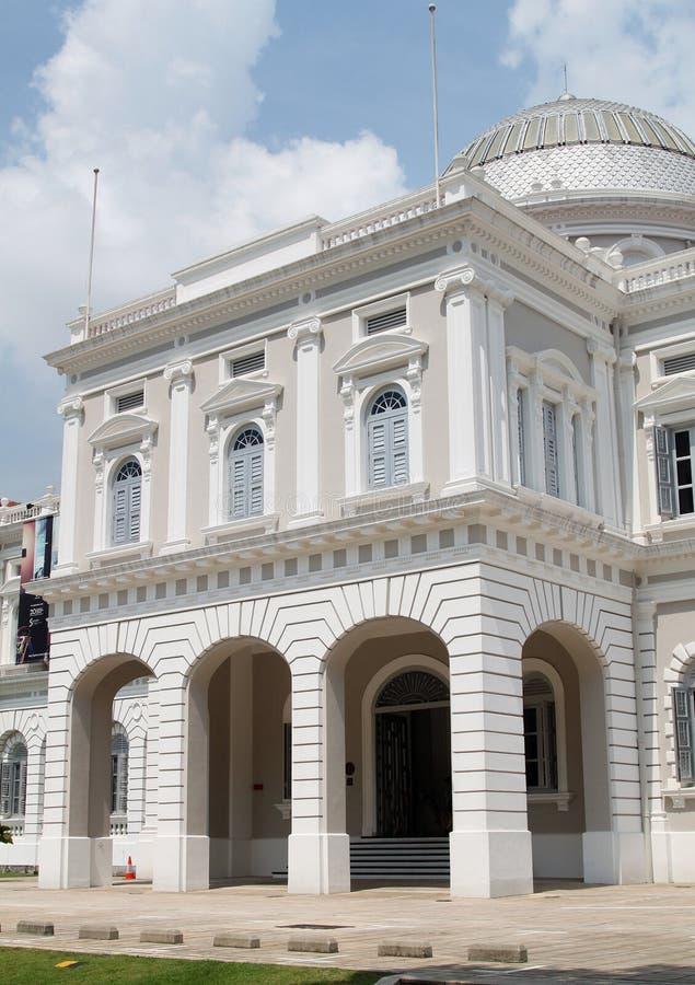 Nationalmuseum von Singapur stockbild