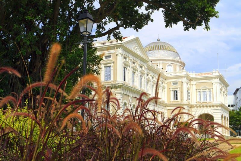 Nationalmuseum von Singapur und von Gärten lizenzfreie stockfotografie