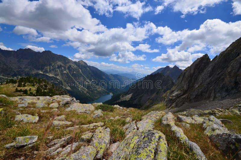 Nationalpark Aiguestortes lizenzfreies stockfoto