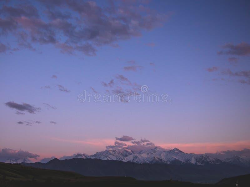 Nationalpark Alaarcha im guten Wetter stockbild