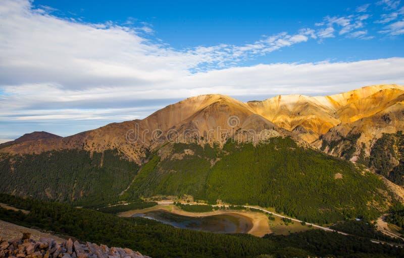 Nationalpark Cerro Castillos lizenzfreie stockbilder