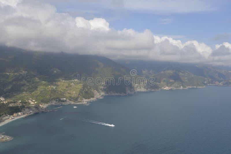 Nationalpark Cinque Terre stockfotos