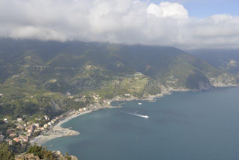 Nationalpark Cinque Terre lizenzfreie stockbilder