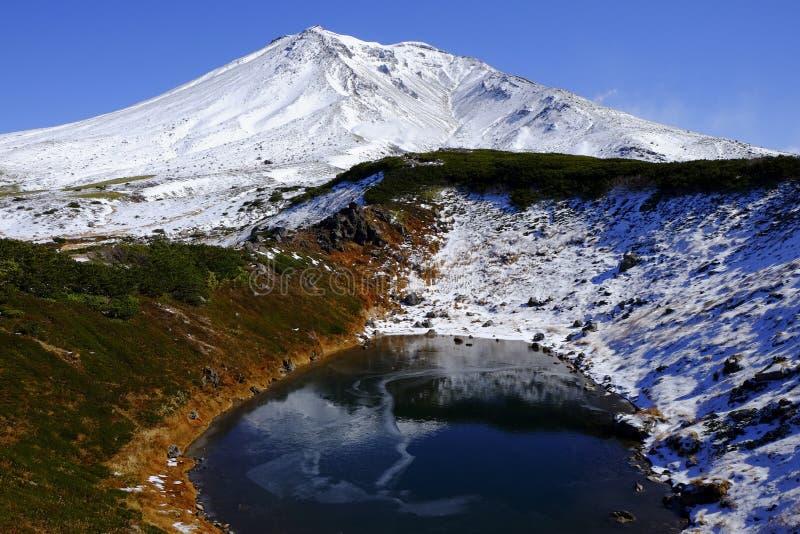 Nationalpark Daisetsuzan, Hokkaido, Japan stockfotografie
