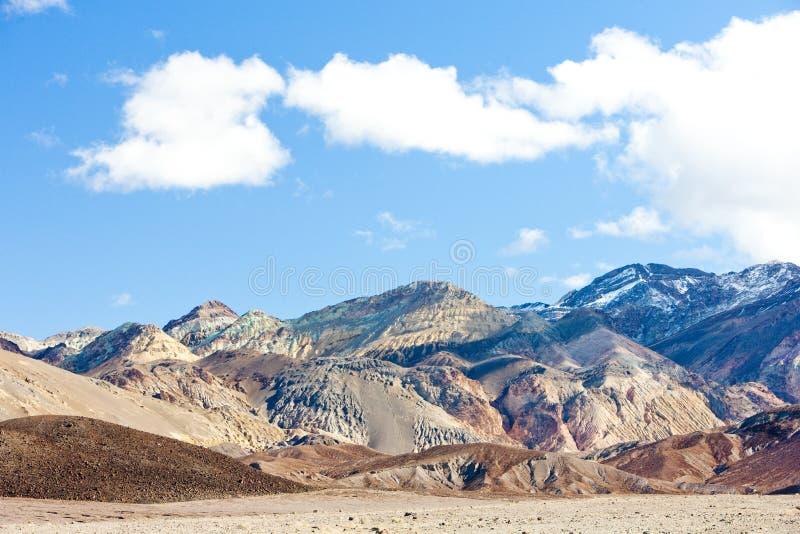 Nationalpark Death Valley, Kalifornien, USA stockfotografie