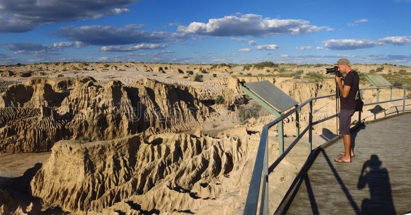 Nationalpark des Mungos, NSW, Australien stockbilder