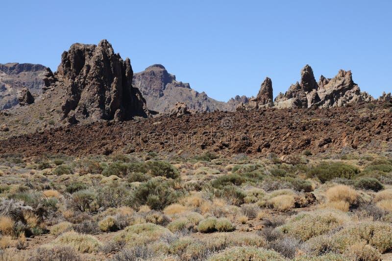 Nationalpark EL-Teide. Tenerife, Spanien lizenzfreie stockfotos