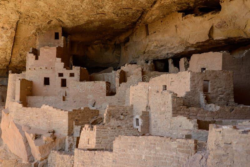 Nationalpark för Mesa Verde, klippaslott royaltyfri fotografi