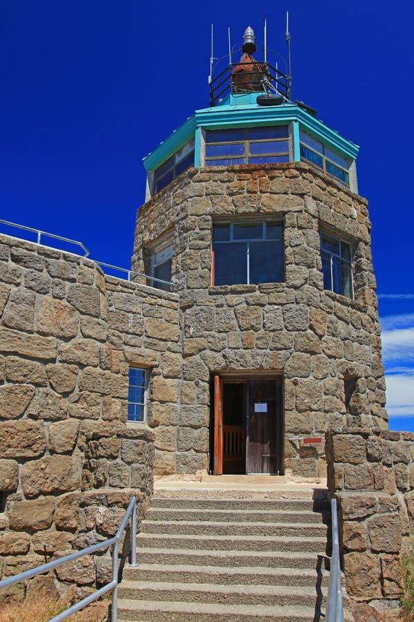 Nationalpark-Gipfel-Museum Mt.-Diablo stockbild