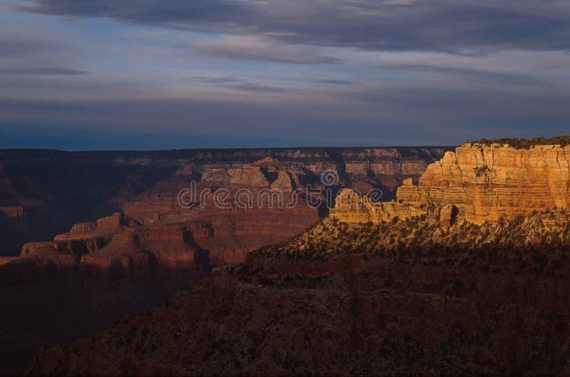 Nationalpark Grand Canyon s, Ansicht Süd-Rim Arizonas, USA lizenzfreies stockbild