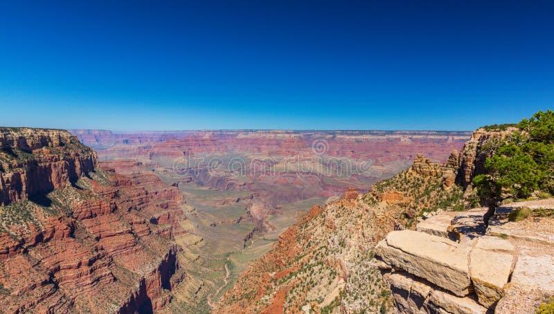 Nationalpark Grand Canyon s, Utah, Perspektivenlandschaft im Herbst lizenzfreies stockfoto