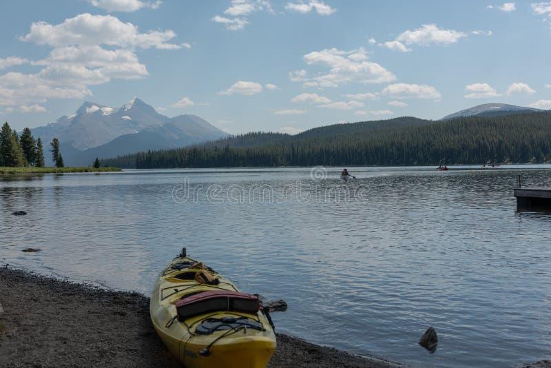 Nationalpark Kanada-Jaspisses stockfoto