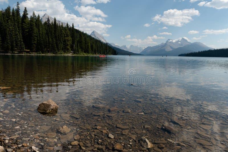 Nationalpark Kanada-Jaspisses lizenzfreies stockbild