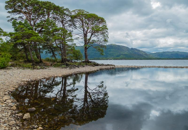 Nationalpark Landschafts-Killarneys Lough Leane stockfotografie