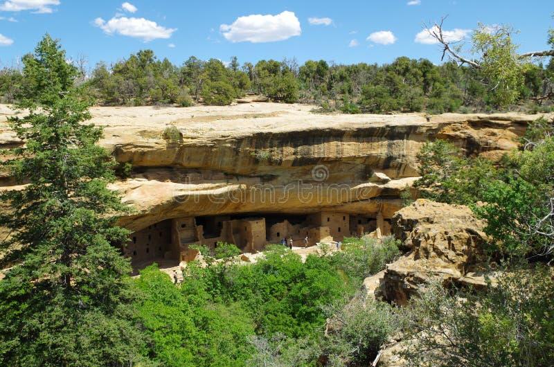 Nationalpark MESA-Verde stockbild
