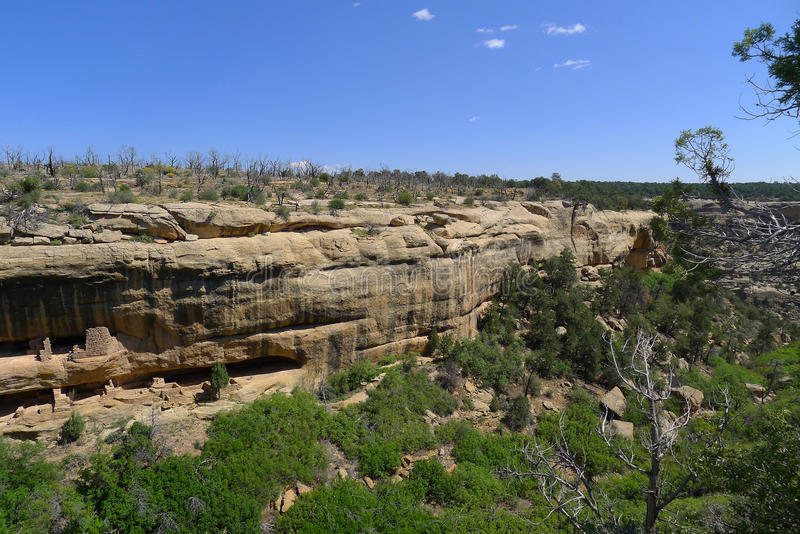 Nationalpark MESA-Verde stockfotos