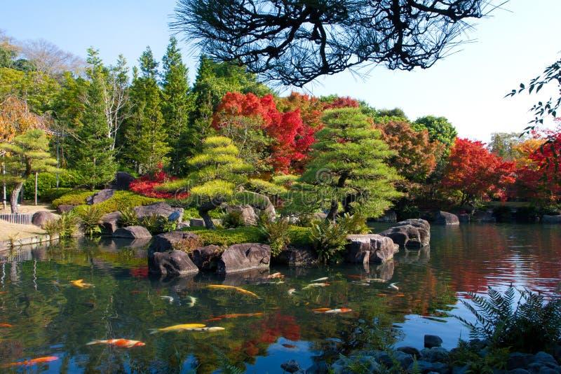 Nationalpark in Osaka Japan lizenzfreie stockfotos
