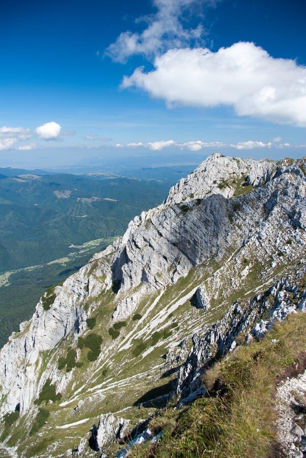 Nationalpark Piatra Craiului, Karpaten-Berge, Rumänien lizenzfreie stockfotos