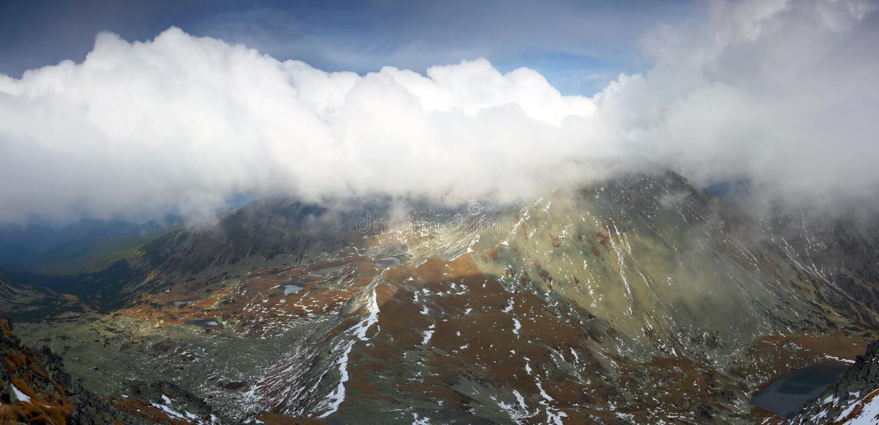 Nationalpark Retezat stockbild