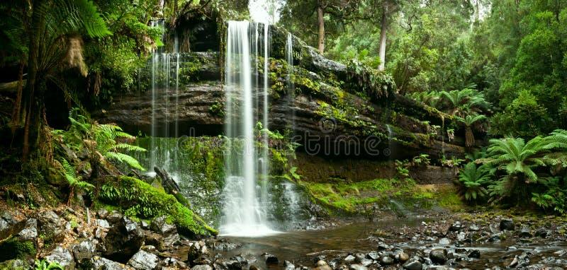 nationalpark russell för fallsfältmontering fotografering för bildbyråer
