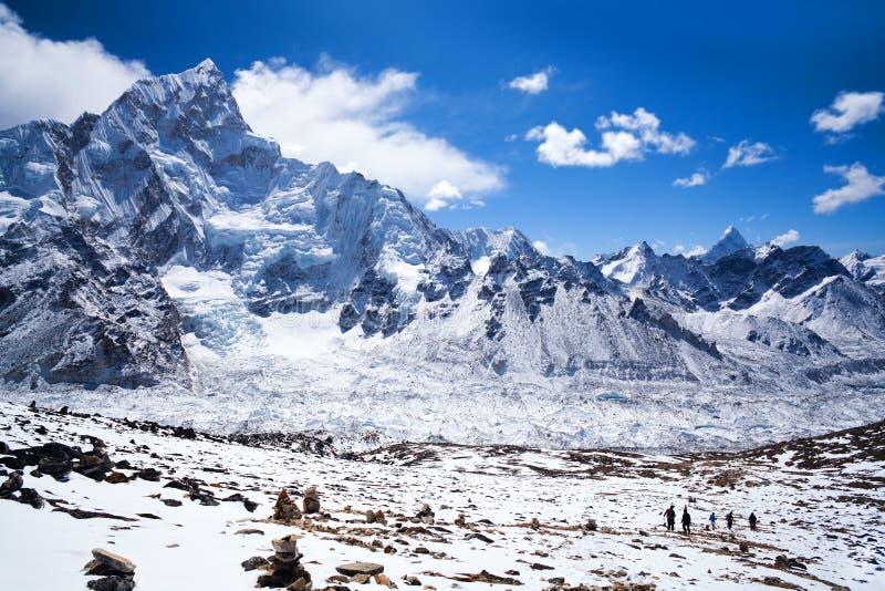 Nationalpark Sagarmatha, Nepal Himalaja lizenzfreie stockfotografie