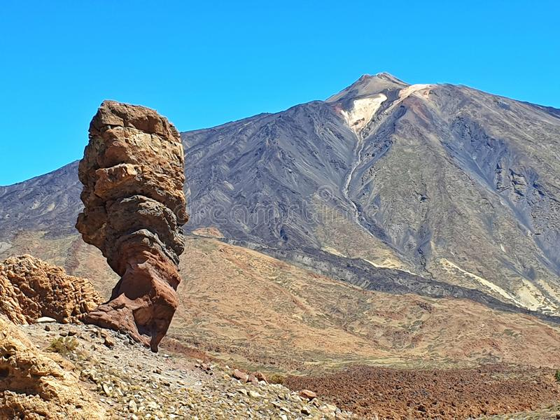 Nationalpark-Spaniens Teide Kanarische Inseln aktiven Vulkans lizenzfreie stockfotografie