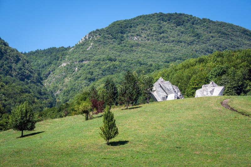 Nationalpark Sutjeska stockbild