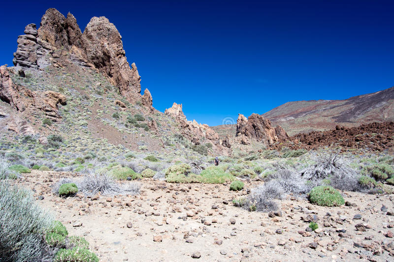 Nationalpark Teide arkivfoton