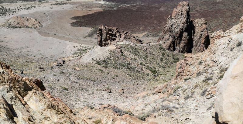 Nationalpark Teide in Spanien stockfotografie