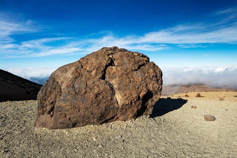 Nationalpark Teide, Teneriffa, Kanarische Inseln - eine Ansicht von ` Teide ärgert ` oder in spanischem ` ` Huevos Del Teide lizenzfreie stockbilder
