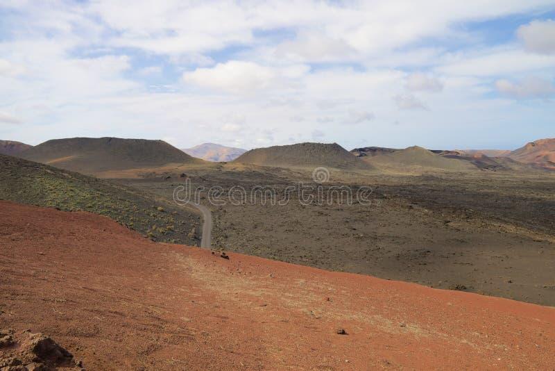 Nationalpark 005 Timanfaya stockfoto