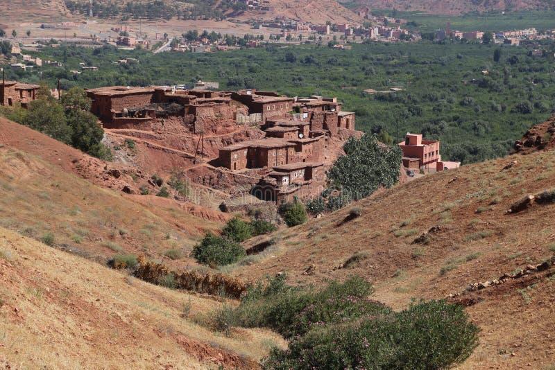 Nationalpark Toubkal i Marocko arkivfoto