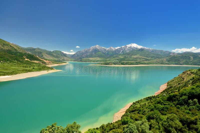 Nationalpark Ugam - Chatkal gelegen nahe dem Taschkent, Usbekistan lizenzfreies stockbild