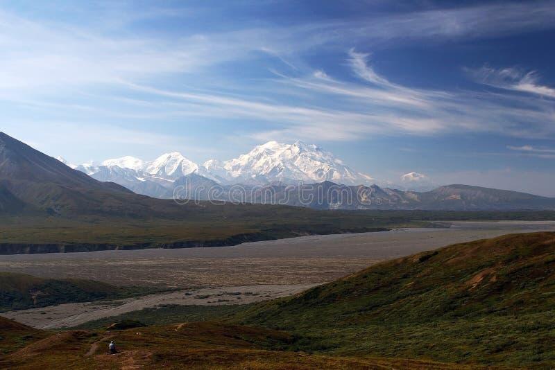 Nationalpark und Konserve des Mount McKinley Denali lizenzfreie stockfotos