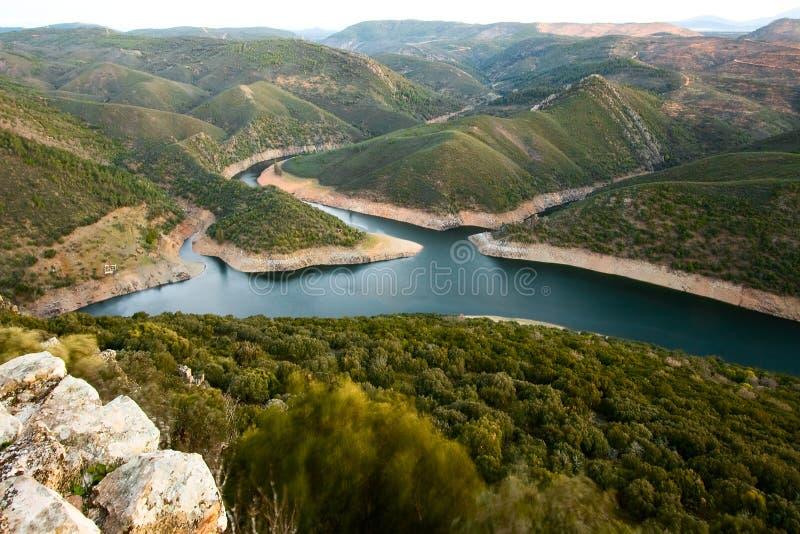 Nationalpark von Monfrague lizenzfreies stockbild