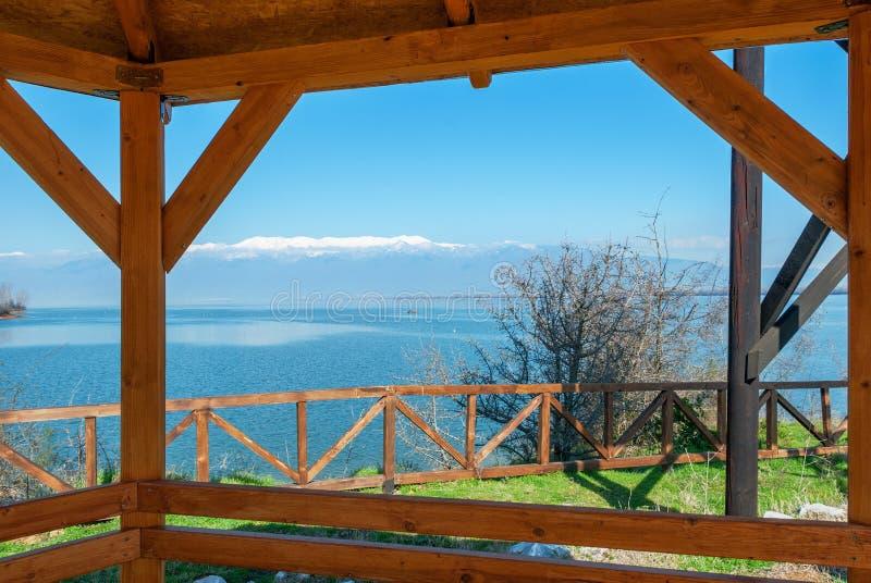 Nationalpark von See Kerkini in Griechenland stockbilder