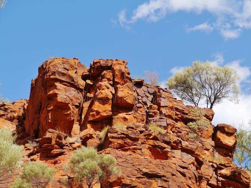 Nationalpark Watarrka lizenzfreies stockbild