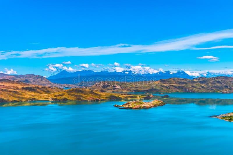 Download Nationalpark Wonderful Torres Del Paine, Chile, Patagonia Stockfoto - Bild von groß, lagune: 96934674
