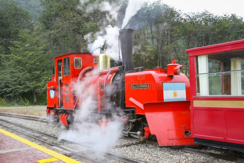 Nationalparkeisenbahn lizenzfreies stockfoto