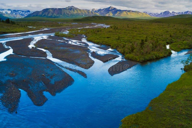 Nationalparker av Alaska royaltyfria foton