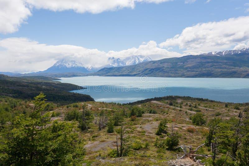 Nationalparklandschaft Torres Del Paine, Chile lizenzfreies stockfoto