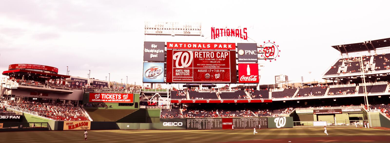 Download Nationals Park Washington, DC Editorial Stock Image - Image of baseball, national: 25984284