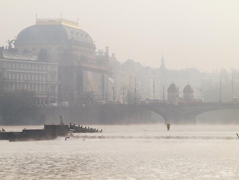 Nationaltheater in Prag lizenzfreies stockfoto