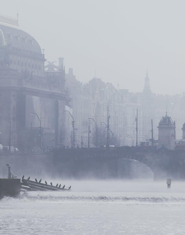 Nationaltheater in Prag lizenzfreies stockbild